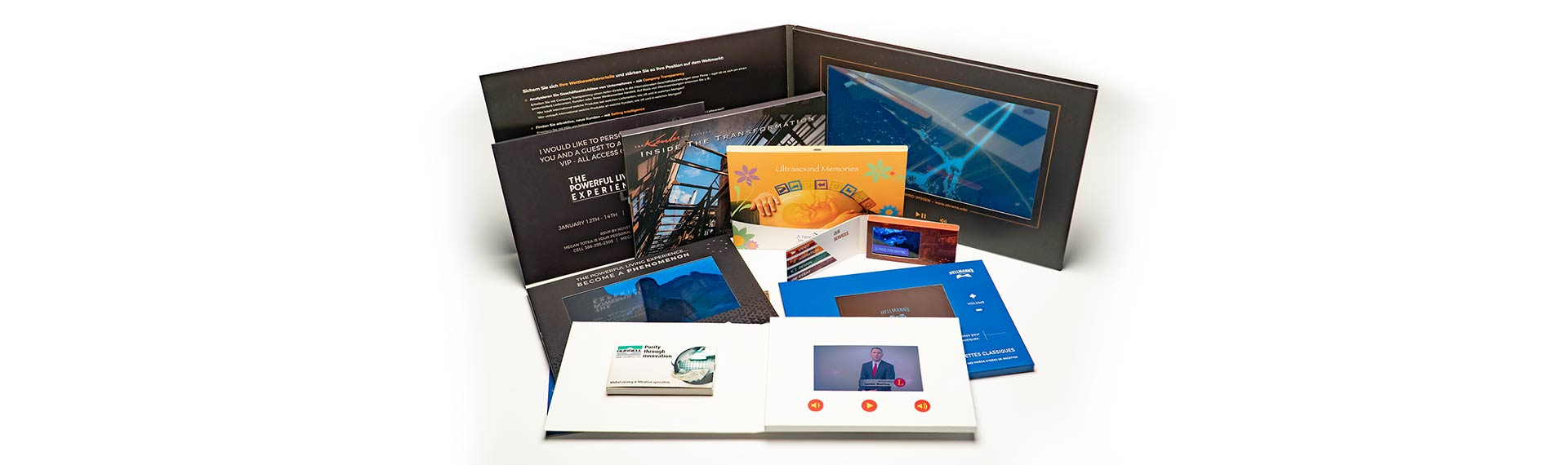 Lxbest Video Brochure Card