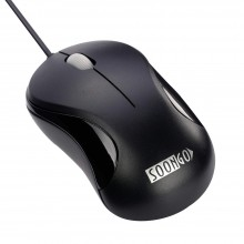 Computer Mini USB Wired Optical Mouse Portable for Laptop, Notebook, MacBook