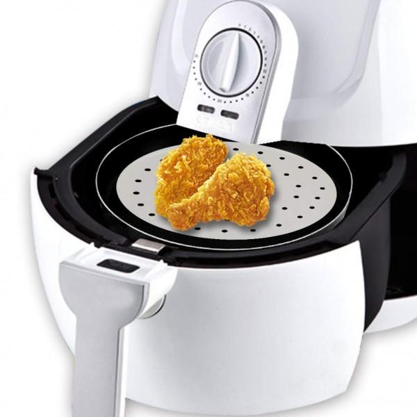 Air Fryer Liners 9 Inch 100pcs With Holes Parchmen Baking