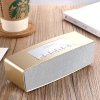 Portable Bluetooth Speakers with Great Sound and Extra Bass, 4.2 Wireless Speakers Supports Aux-In, TF Card, FM and USB,Wireless Speakers for Phone, Computers, TV and More