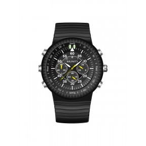 Men's Quartz Watch Rubber Band Leisure Luminous Waterproof Watch Accessory