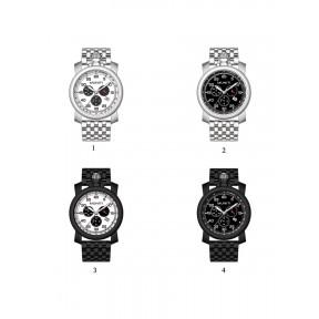 Men's Quartz Watch Sub-dials High Quality Waterproof Stylish Watch