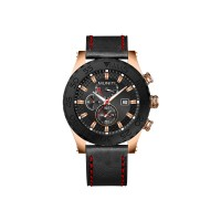 Men's Quartz Watch Sub-dials High Quality Stylish Watch