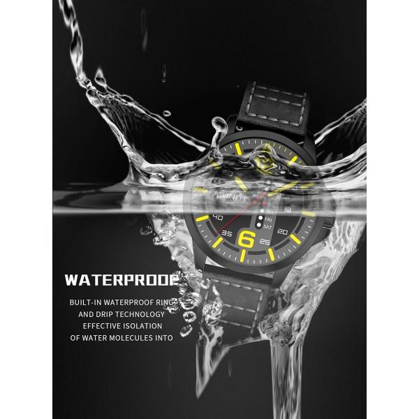 Mens Quartz Watch All Match Leisure Waterproof Trendy Watch