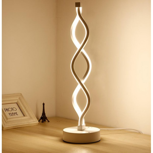 Twist Modern Led Living Room Floor Lamp Bright