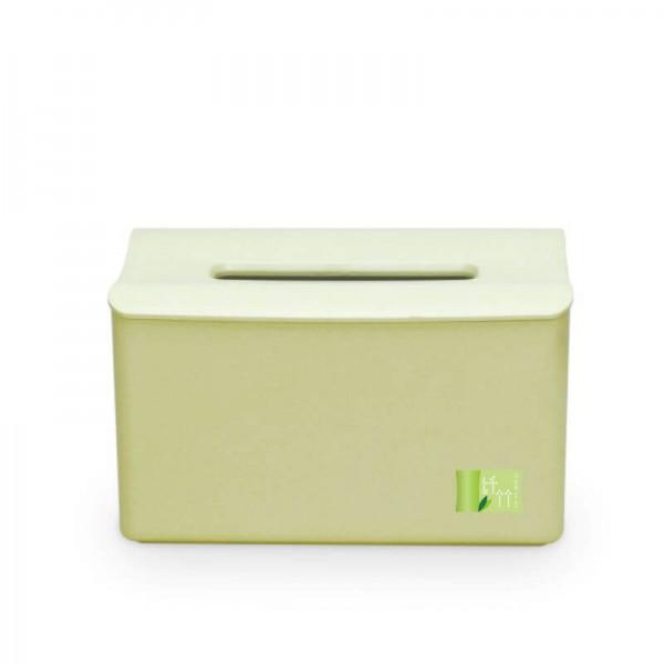 Bamboo Fiber Elevated Tissue Box Creative Lifting Tissue Box Creative environmentally Friendly Material