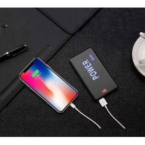 5000mAh Power Bank, External Battery Pack LED Portable Charger Lightweight USB Power Bank Ultra Slim Charger Compatible for iPhone, Android, Samsung Galaxy,   iPad & More Devices