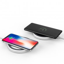 Wireless Mirror Charging Pad Dock Cradle Compact Portable Charger USB For iPhone,Android etc