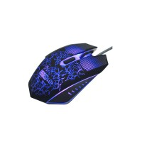 Gaming Optical Mouse, SOONGO Ergonomic USB Breathing LED Colors Wired Mice with 3200 DPI Adjustable 6 Buttons Design for PC Computer Laptop