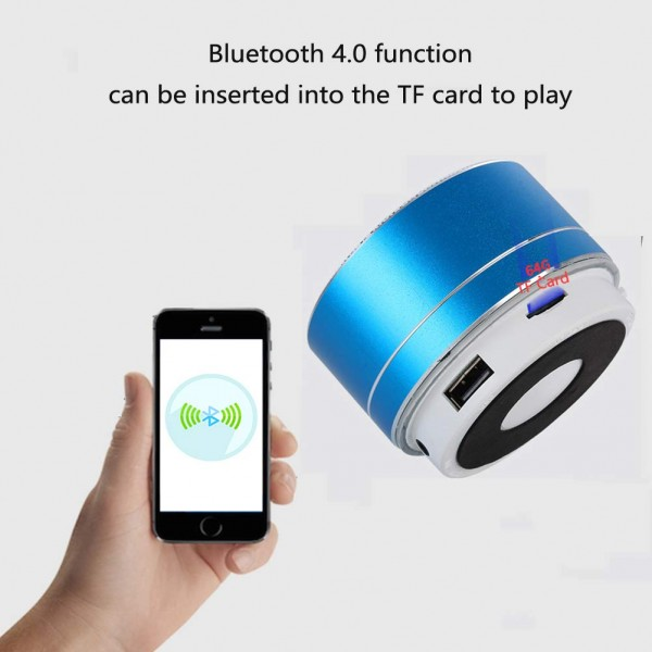 Mini Speakers Bluetooth Perfect Portable Speaker Enhanced Bass IPX5  Outdoor Wireless Subwoofer Built-in Mic 360° Surround Sound