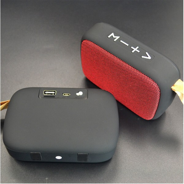Wireless Speaker, Portable Bluetooth Speakers Loudspeaker Box Fabric Outdoor Stereo Audio Inserts TF Card U-Disk MP3 Player for iPhone Android Phone