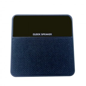 Compatible with FM TF Audio InputClock Speaker Mini T1 Fabric Alarm Clock Card Wireless Bluetooth Speaker