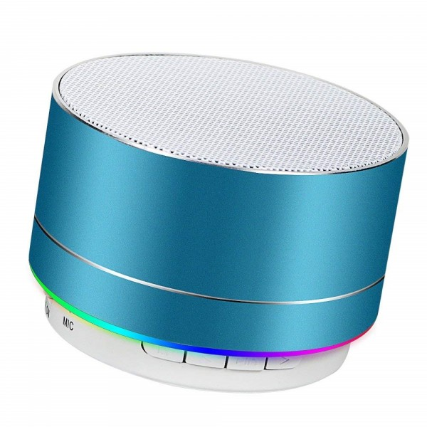 Portable Wireless Bluetooth Speaker Superb HD Sound &Bass Mini Stereo Outdoor Speaker with Built-in Mic and SD/TF Card Slot for iPhone iPad PC Cellphone