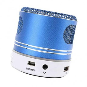 Colorful LED Lighting Wireless Bluetooth Speaker Enhanced Bass Voice Call FM Radio USB/TF Card/Audio Input
