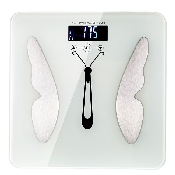 Digital Bathroom Weight Scale Electronic Health Monitor Body Analyzer by SOONGO